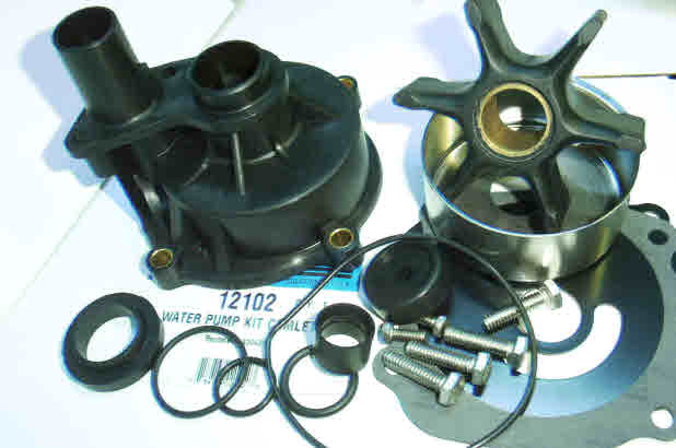 Evinrude/Johnson outboard water pump kit *How to video