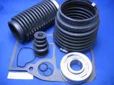 21962 S Transom bellows service kit includes gimbal bearing oil seal