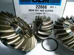 22666 Gear set all V6-V8 with high alloy steel