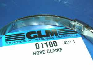 01100 Mercruiser U joint bellow clamp