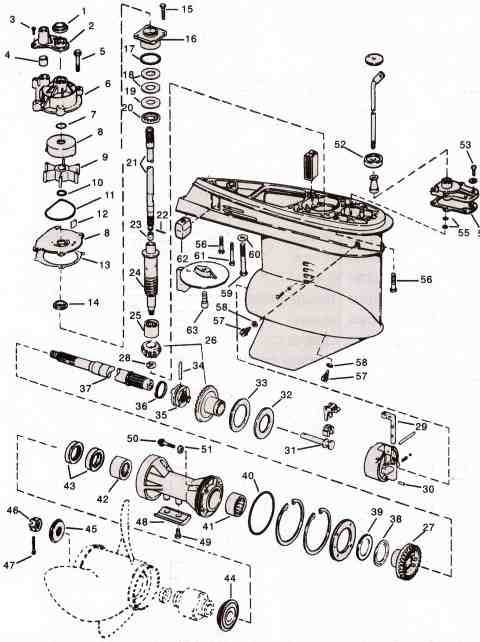 Motor Parts Outboard Motor Parts Diagram – Diagram Of Outboard Engine