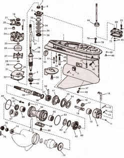 johnson outboard engine diagram wirdig evinrude johnson outboard parts drawings how to videos