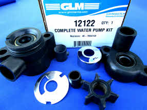 12122 water pump kit 4 to 4.5 hp. .456 inch impeller