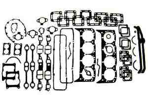 L Gm Engine Overhaul Gasket Set on Chevy 305 Engine Exploded View