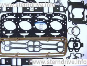 Sierra Marine Mercruiser I//O Exhaust Manifold Gasket Set For GM 175 185 205