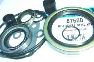 87500 upper gearcase seal kit parts