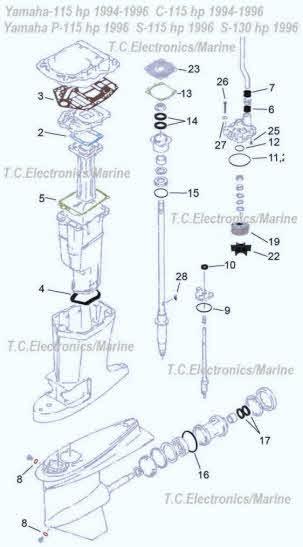 Array - yamaha outboard parts  i need help page  rh   sterndrive info