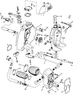 OMC parts drawings * Outdrive repair help * Videos
