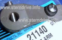 Bell Housing Shift Lever For MerCruiser R Alpha 1 MR Alpha 1 Gen 2   45518A3
