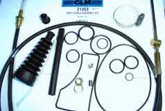 III Mercruiser Bravo lower Shift Cable Assembly Kit 21453 815471T1 Bravo I II