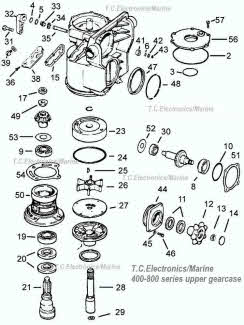 OMC parts *Exploded view drawings *Outdrive repair help video on