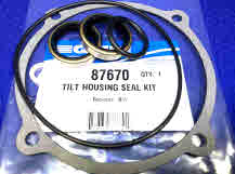 87670 OMC tilt housing seal kit