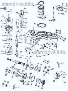 evinrude johnson outboard parts drawings * how to videosjohnson evinrude v4 60 degree 1995 2006