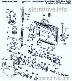 Evinrude / Johnson outboard parts drawings * How to videos on