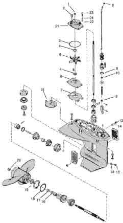 Mercury Outboard 50 Hp 2 Stroke Diagram on wiring diagram for mercury outboard ignition switch