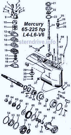 Mercury outboard parts drawings & videos