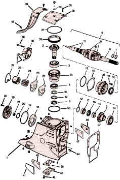 Omc Parts 800 Cobra Outdrive Exploded View Drawings Videos
