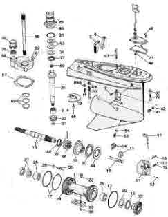 Mercury Outboard Shift Cable Diagram on mercruiser 3000 throttle control diagram
