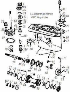 OMC King Cobra used components
