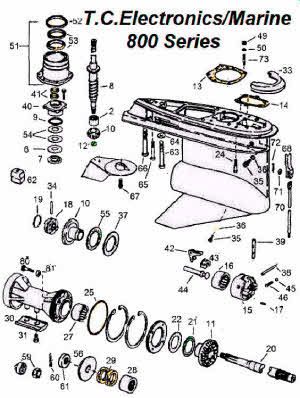 Mercruiser Sterndrive Parts Diagram