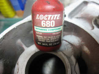 P Loctite 680 will be required to hold seal in housing