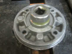 Press-half-way-if-not-replacing-bearing
