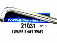 21031 Gen 2 lower shift shaft