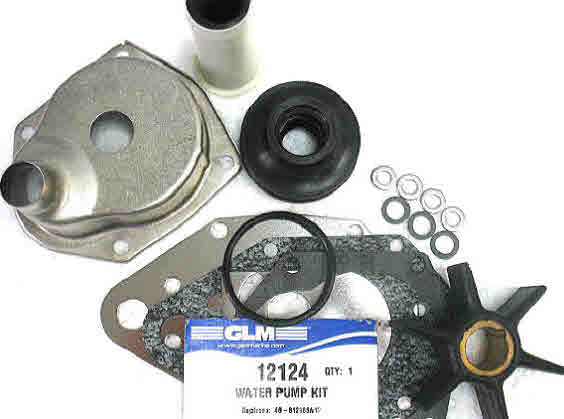 12124 Mercury Mariner water pump kit