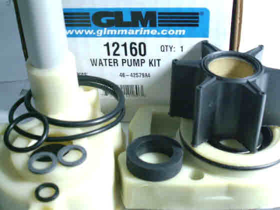 Mercury and Mariner Outboard Water Pump Base Assembly 46-96146A6