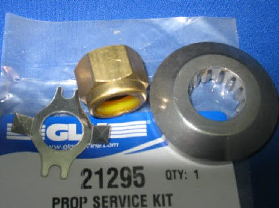21295 prop nut kit