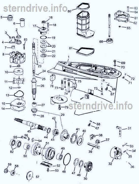 johnson evinrude parts v4 60 degree 1995 2005 rh sterndrive info Wisconsin V4 Engine Ford V4 Engine