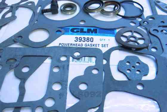 Johnson outboard power head gasket sample 39380