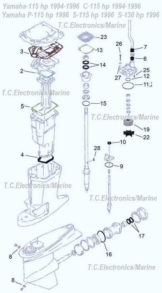 Yamaha Outboard Schematic Diagram - good #1st wiring diagram