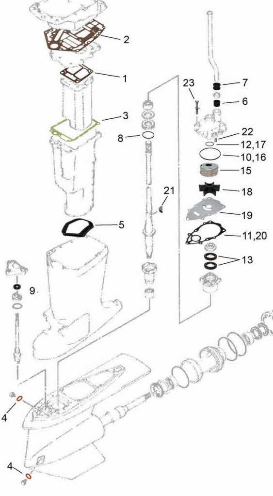 Yamaha Outboard Motor Parts Diagram Impremedia Net